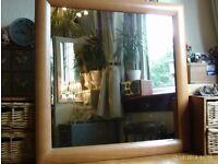 square mirror 71 x 71 cm