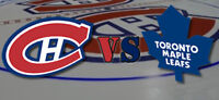 Toronto Maple Leafs at Montreal Canadiens Bus Tour-October 14th