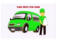 VAN TRUCK HIRE FOR HOUSE OFFICE MOVING BIKE MOVER PIANO DELIVERY RUBBISH CLEARANCE LUTON REMOVAL MAN