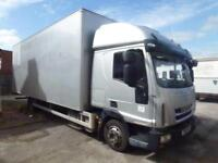 Iveco Eurocargo 75e18 box 2011 ideal recovery plant truck