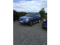Metalic blue freelander
