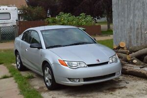 2008 Saturn ion sport/coupe 2.4L Gray