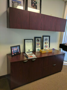 Credenza & Wall Cabinets