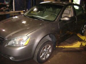 ALL PARTS AVAILABLE 2002 NISSAN ALTIMA