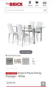 Table chair set $300