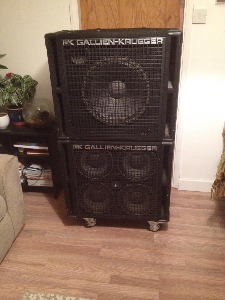 Gallien Krueger Bass Cabinet Speakers 410RBH & 115RBH | in ...