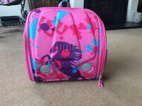 Yuu bag, pink, sturdy and spacious.