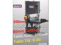 Sealy SM1303 Professional Bandsaw 200mm is Suitable for cutting wood and plastics Band Saw