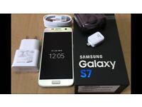 Samsung s7 32gb boxed unlocked