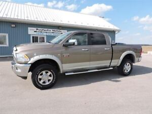 2010 Dodge Ram 2500 Laramie,DIESEL,4X4,DVD,LEATHER,NEW TIRES !!