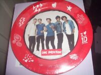 One Direction Paper Plates 23cm. Box of 96. Brand New Sealed. Official License