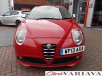 2013 Alfa Romeo Mito TB MULTIAIR QUADRIFOGLIO VERDE 170 BHP (MANUAL) Petrol red