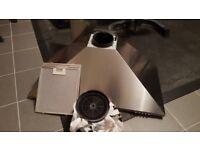 Luxair 90cm Stainless Steel Cooker Hood Extractor Fan