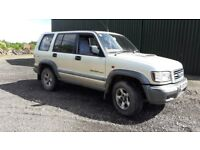 Isuzu Trooper LWB SWB choice of two