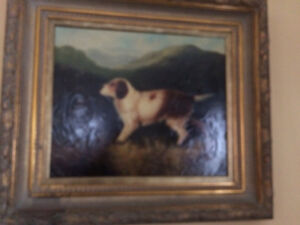 Dog Painting   AND MORE!!! MOVING SALE!!