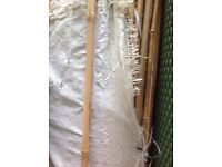 Good quality 1.8m or 2m bamboo canes 4 for £1