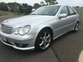 2006 MERCEDES BENZ C220 CDI AUTO SPORT EDITION FULL HISTORY 1 OWNER FROM NEW MINT NOT E CLASS E220
