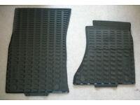 Audi Q5/SQ5 Genuine Front (2) Rubber floor mats (PART NUMBER 8R2061501041)