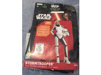 Unisex storm trooper fancy dress