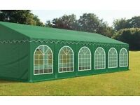 Green marquee for sale 12m x 6m or can convert to 6m x 6m