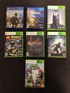 PS4 and XBOX 360 games!