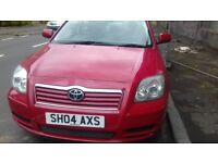 TOYOTA AVENSIS PETROL MOT TILL MARCH EXCELLENT CONDITION DRIVES REALLY WELL