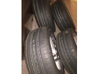 """Ford Alloys. Rare 14"""" 4 Stud fully refurbished with brand new never used tyres."""