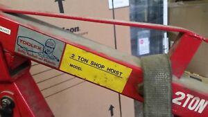 2 Ton shop hoist