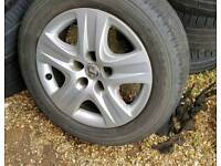 2012 vauxhall insignia wheels and tyres astra