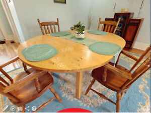 Dining Table 5 Chairs