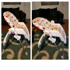 PRICE REDUCED!! Mamas and papas high chair