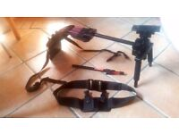 Pag Orbitor video camera shoulder support