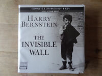 HARRY BERNSTEIN THE INVISIBLE WALL 8 CD AUDIO BOOK unabridged