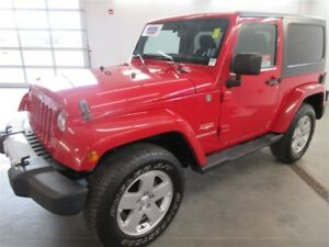 2011 Jeep Wrangler Sahara! 4x4! ALLOY! HEATED!