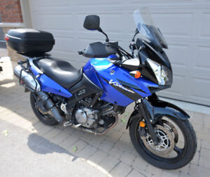 650 v-strom 1 mature owner,excellent condition 2700.obo