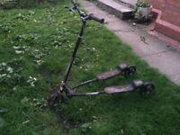 Big scissor scooter