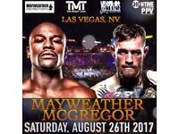 Floyd Mayweather Jr. vs. Conor McGregor 2017 Saturday, 26 August T-Mobile Arena, Las Vegas