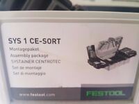 festool sys 1 ce-sort ((NEW L@@K) -OPEN TO OFFERS.!!!