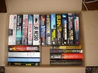24 Paperback Books Good Condition