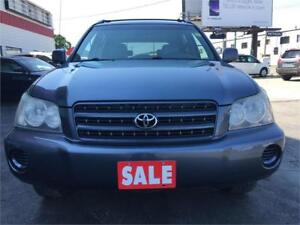 2001 Toyota Highlander Limited! 4WD! Clean Title! Local SUV!