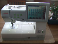 Janome 11000 Sewing and Embroidery Machine