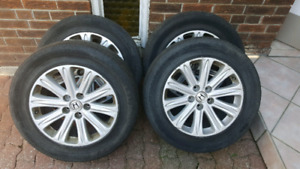 Honda Odyssey Pack Rims with Tires and TPMS Sensor