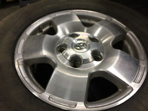 Good shape 2008 Toyota Tundra SR5 rims and tires