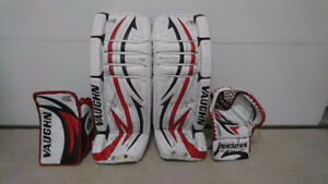 Hockey jambière pads vaughn velocity 33+1  mitaine + blocker