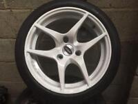 Dynamics Mercedes smart car wheels alloy wheels three-stud