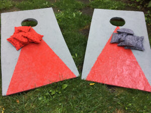 Bean Bag Toss (Cornhole) Game