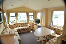 -GREAT STARTER CARAVAN BY THE BEACH-at southerness,near dumfries,carlisle,keswick penrith,