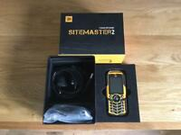 JCB sitmaster 2 tough phone