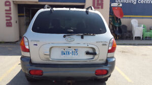 2004 Hyundai Santa Fe GLS SUV, Crossover Certified with Safety