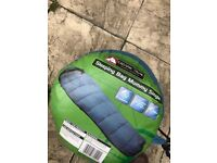 Camping Tent and 4 sleeping bags